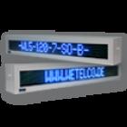 LED-Laufschrift WL5-120-7-SO-B-O / Im Gehäuse für den Außenbereich