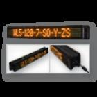 LED-Laufschrift-WL5-120-7-SO-Y-ZS / Typ WL5-SO, zweiseitig