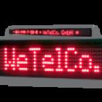 LED-Laufschrift WL5-240-7-SO-R / Typ WL5-SO