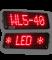 LED-Laufschrift WL5-40-7-SO-R / Typ WL5-SO