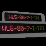LED-Laufschrift WL5-80-7-I-TRI / Typ WL5-I