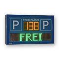LED-Display 'FREI / BESETZT' inkl. Restplatzanzeige DFY100-3-Y-FY12-48-8-TRI