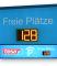 LED-Display 'Restplatzanzeige' DFY100-3-Y-KI2-LK inkl. LED-Hinterleuchtung