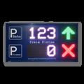 Parkplatz LED-Display FY12S-64-32-RGB7C-ETH