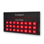 "LED-Display ""Auslagern"" WL5-200-7-3-SO-R-O"