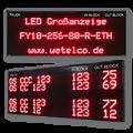 LED-Anzeige LKW Aufruf FY10-256-80-R-ETH
