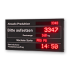 "LED-Display ""Produktion"" WL5-16-2-7-3-SO-R-O"