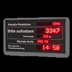 "LED-Display ""Produktion"" WL5-16-2-7-3-SO-R-O"