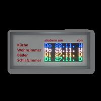 LED Anzeige Auftragsmitteilung FYI4S-64-32-RGB-WE-ETH