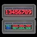 LED-Display Vertragseinheiten FYI6S-96-16-RGB7C-ETH