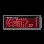LED-Anzeige LKW Aufruf FY10-192-48-R-WE-ETH