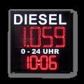 Tankpreisanzeige WE-FPS-320-4-RF4T-LK-WECL225-R-ZS
