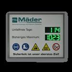 """LED-Display """"Arbeitssicherheit"""" DFY140-4-2-G-UFT-REK-IR"""