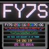 LED-Laufschrift FY7S-256-16-RGB7C-OG