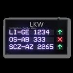 LED-LKW Aufruf FY8S-160-48-RGB7C-ETH