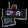 Schule – LED-Aufrufanzeige FY8S-64-16-RGB-WE-KO1-ETH
