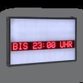 Laufschrift ein- und zweizeilig, WL5-160-16-SO-R-7C-LK-O