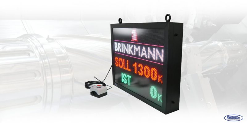 Soll / Ist LED-Anzeige