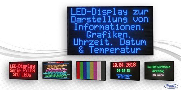 LED-Display FY10S-192-96-RGB7C-ETH