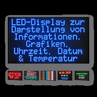 Kran Anzeigesystem: LED-Display FY10S-192-96-RGB7C-ETH
