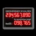 Schuldenuhr: DFY140-15-R-ETH