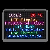 Grafiktafel: FY10S-96-64-RGB7C-WLAN-TEMP