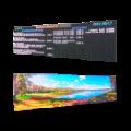 Videowall als Speisekarte: FY6S-576-160-RGB-HP-WLAN